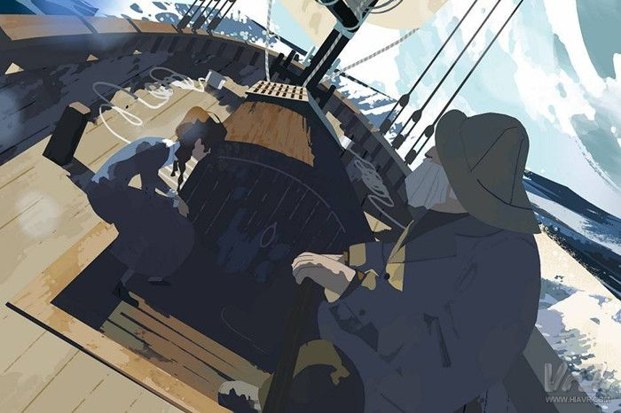VR短片《Age of Sail》